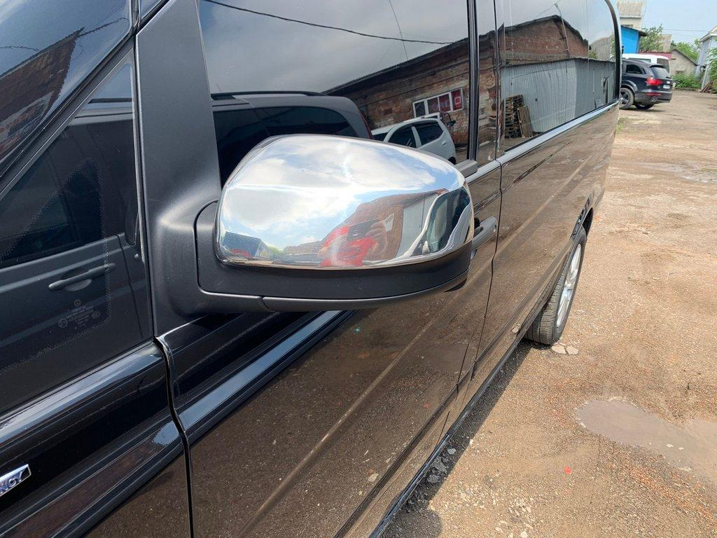 Mercedes Vito 639 2010↗ Хром Накладки на зеркала OmsaLine пластик Мерседес Бенц Вито W639