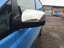 Mercedes Viano Vito 2010↗ Хром Накладки на зеркала OmsaLine пластик Мерседес Бенц Виано, фото 3