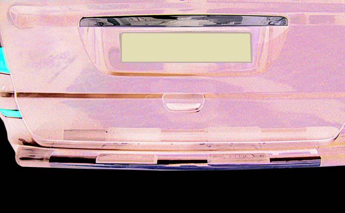 Mercedes Viano Хром планка над номером Кармос Мерседес Бенц Виано, фото 2