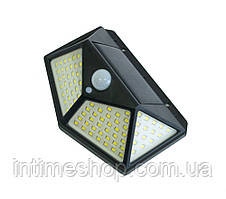 Уличный led светильник-фонарь на солнечной батарее с датчиком движения CL-100, вуличний ліхтар (TI)