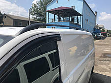 Mercedes Vito W447 Черные рейлинги со стальным креплением короткая база Мерседес Бенц Вито, фото 3