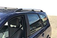 Renault Grande Scenic 2003-2009 Рейлинги Хром (длинная база) Рено ГрандСценик