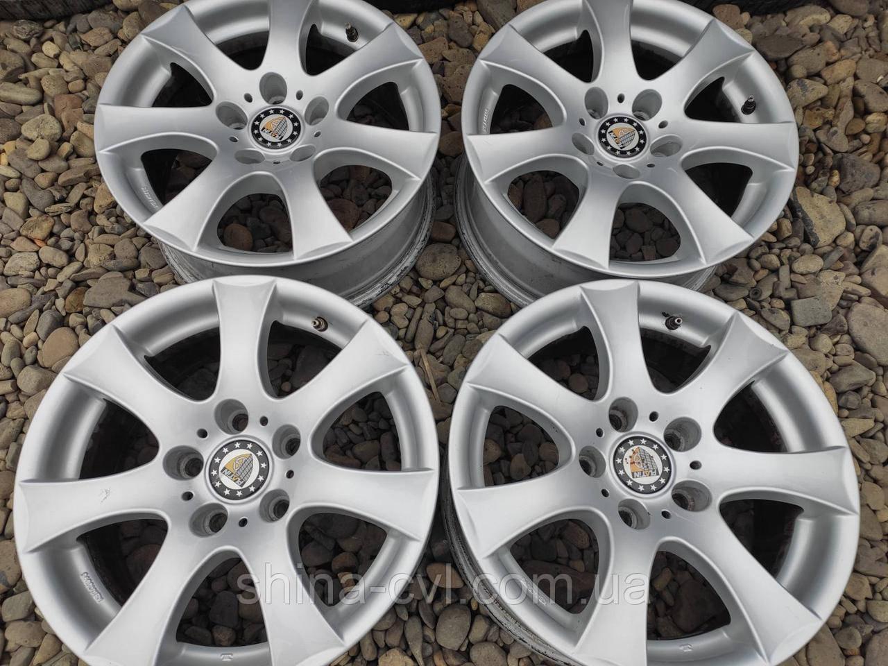 Диски 5.120 R16 7J ET20 DIA74.1 ALUTEC для BMW E39/E34; RENAULT TRAFIC; OPEL VIVARO; VOLKSWAGEN T5