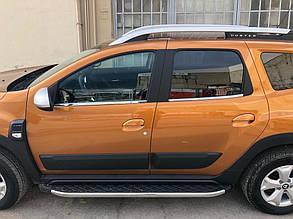 Renault Duster 2018↗ Нижняя окантовка стекол OmsaLine Рено Дастер, фото 2