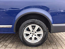Молдинги на дверь Volkswagen Т5 (Omsa,) короткая база 2 боковые дверь Фольксваген Т5 (Транспортер), фото 3