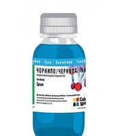 Водорастворимые чернила ColorWay CW-EW600C Cyan (200 ml) (CW-EW610C02) (Совместимость: Epson Stylus Photo: R22