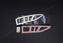 Окантовка на стопы Citroen Berlingo (сталь, 2 шт) Ситроен Берлинго, фото 3