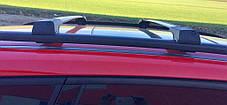 Nissan Primastar Перемычки на рейлинги без ключа Серый Ниссан Примастар, фото 2