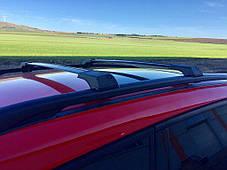 Nissan Primastar Перемычки на рейлинги без ключа Серый Ниссан Примастар, фото 3
