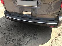 Citroen Jumpy 2017↗ Накладка на задний бампер OmsaLine на короткую и среднюю базы Ситроен Jumpy/Dispatch, фото 2