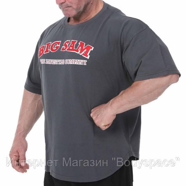 Big Sam, Размахайка Coach Training T-shirt Anthracite 3110