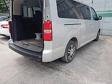 Накладка на задний бампер EuroCap (ABS) Citroen Jumpy/Dispatch 2017↗ гг. Ситроен Jumpy/Dispatch, фото 2