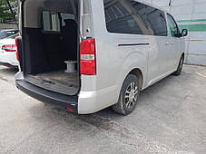 Накладка на задний бампер EuroCap (ABS) Peugeot Traveller 2017↗ гг. Пежо Травеллер, фото 2