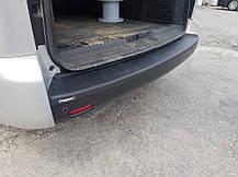 Накладка на задний бампер EuroCap (ABS) Toyota Proace 2017↗ гг. Тойота Проэйс, фото 2