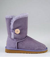 Детские сапоги UGG Baby Bailey Button violet