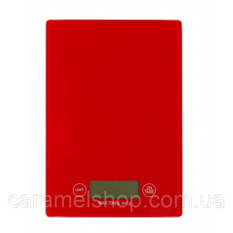 Весы кухонные MATARIX MX-402 красный max 5 кг