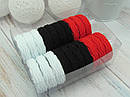 Гумки мікрофібра Ø4 см кольорові 20 шт. в коробці, фото 2