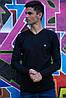 Свитер мужской 117R007(7206) цвет Черный, фото 2