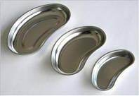 Лоток медицинский металлический почкообразный 500млл 260х160х30мм