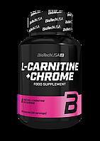 Л-карнитин + хром BioTech L-Carnitine + Chrome (60 капс) биотеч