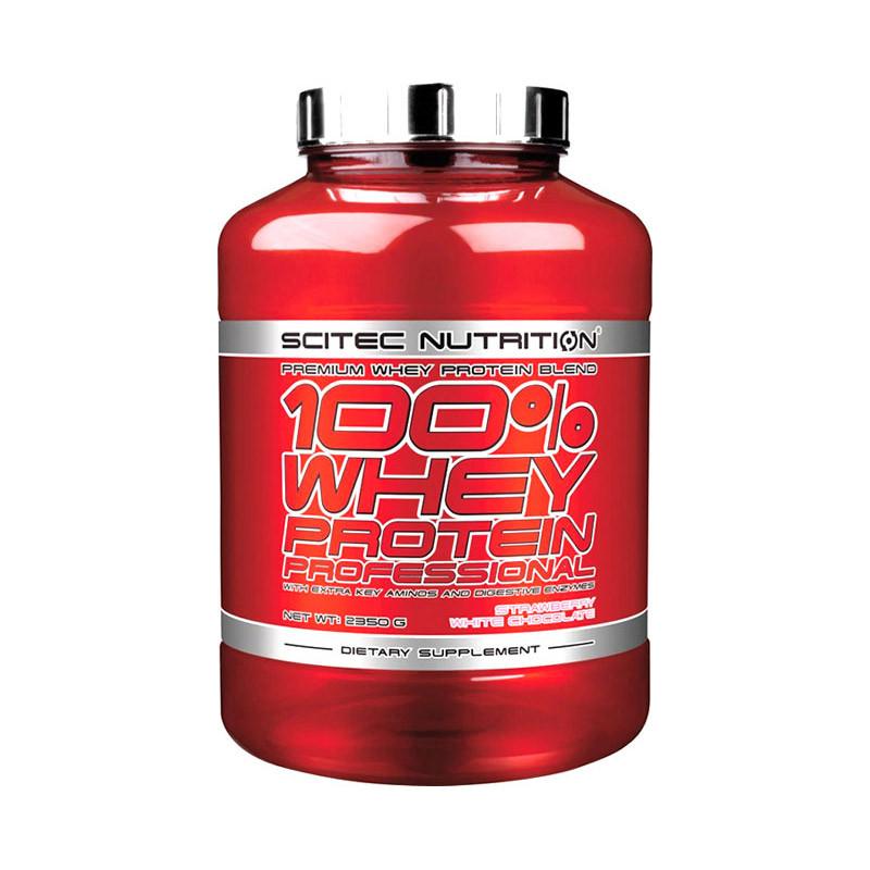 Сывороточный протеин концентрат Scitec Nutrition 100% Whey Protein Professional (2,3 кг) скайтек вей lemon