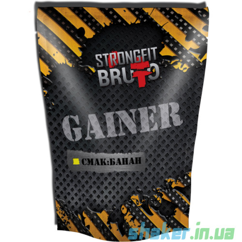 Гейнер для набора массы Strong FIT Gainer (909 г) стронг фит Банан