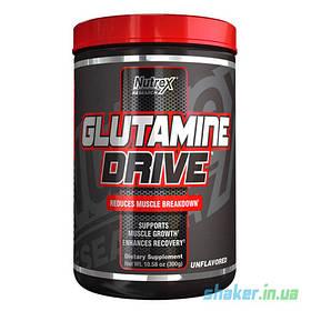 Глютамін Nutrex Glutamine Drive (300 г) нутрекс Без добавок
