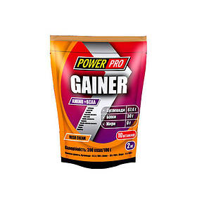 Гейнер для набора массы Power Pro Gainer (2 кг) павер про лесная ягода