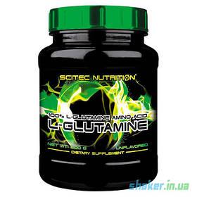 Глютамін Scitec Nutrition L-Glutamine (600 г) скайтек Без добавок