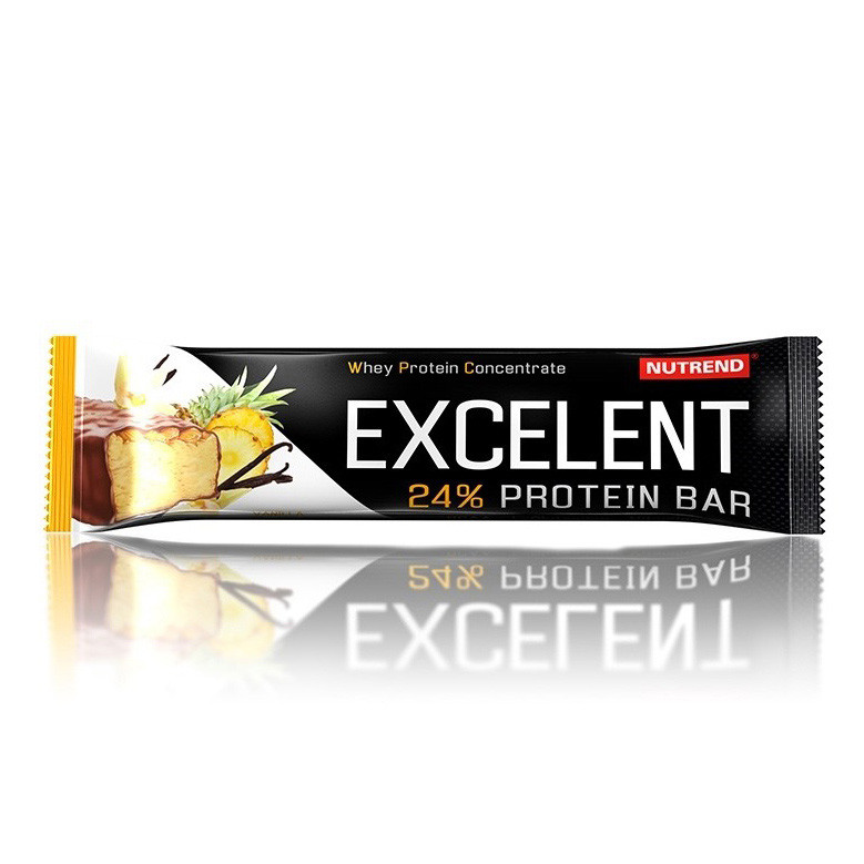 Протеиновый батончик Nutrend Excelent Protein Bar (85 г) нутренд lemon-curd cheese-raspberry
