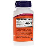Витамин В6 (Пиридоксин), Vitamin B6, Now Foods, 100 мг, 100 капсул, фото 2