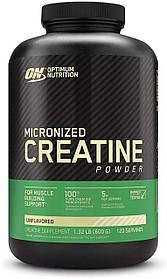 Креатин моногидрат Optimum Nutrition Creatine Powder (600 г) оптимум нутришн Без вкуса
