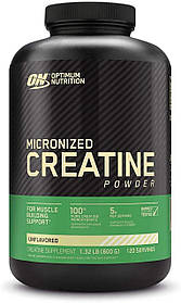 Креатин Optimum Nutrition Creatine Powder (600 г) оптимум нутришн Без смаку