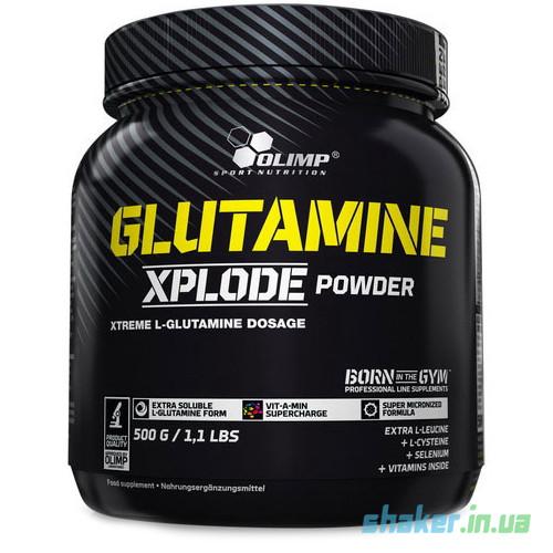 Глютамін Olimp Glutamine Xplode (500 г) олімп иксплод orange
