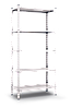 Стеллаж МКП М401 на болтовом соединении (2160х1000х400)