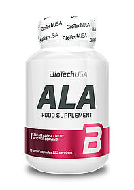 Альфа-ліпоєва кислота BioTech ALA (50 кап) биотеч ала