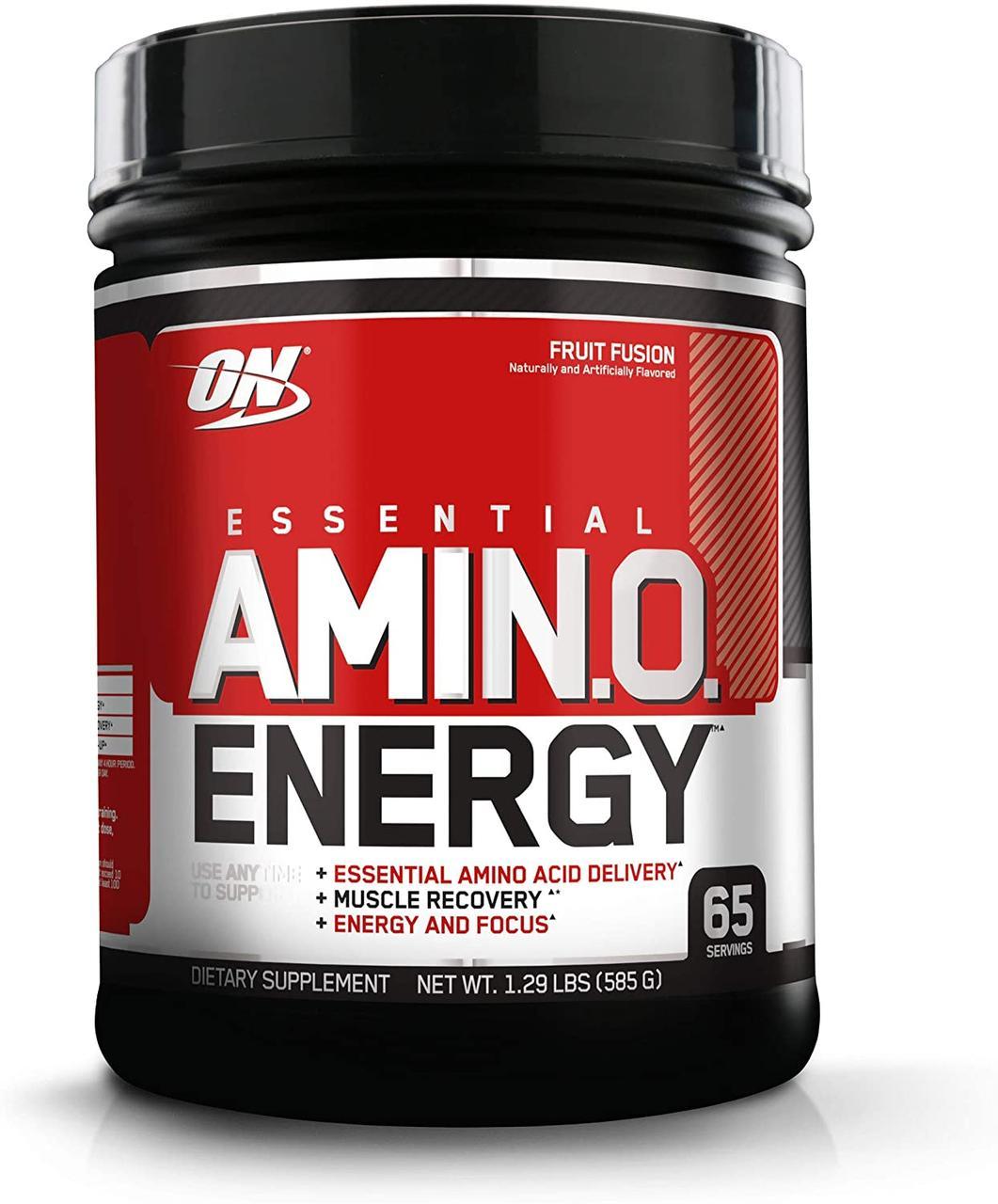 Комплекс аминокислот Optimum Nutrition Amino Energy (585 г) оптимум амино энерджи fruit fusion