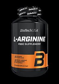 Л-Аргінін BioTech L-Arginine Mega Caps (90 капсул) биотеч мега капс