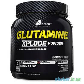 Глютамін Olimp Glutamine Xplode (500 г) олімп иксплод lemon zitrone