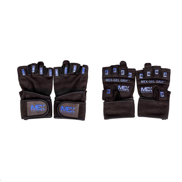 Рукавички в зал для фітнесу MEX Nutrition Gel Grip Gloves L