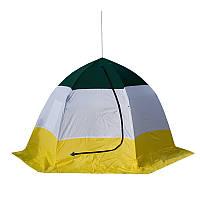 Палатка зонт для зимней рыбалки,зимняя палатка Стэк ELITE дышащая  4-x местная