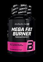 Жиросжигатель BioTech Mega Fat Burner (90 капс) биотеч фат бернер