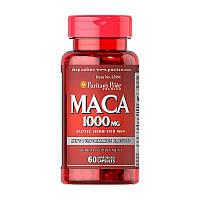 Мака экстракт корня Puritan's Pride Maca 1000 mg (60 капс) пуританс прайд