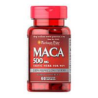 Мака экстракт корня Puritan's Pride Maca 500 mg (60 капс) пуританс прайд