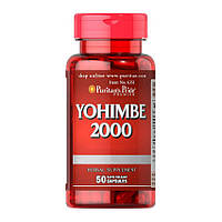 Йохимбин экстракт Puritan's Pride Yohimbe 2000 mg (50 капс) йохимбе пуританс прайд