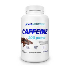 Кофеїн All Nutrition Caffeine 200 power (100 кап) алл нутришн