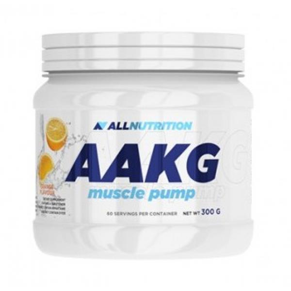 L-аргинин альфа-кетоглютарат AllNutrition AAKG Muscle Pump (300г) аакг алл нутришн Lemon