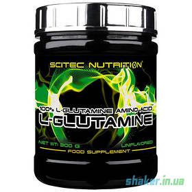 Глютамін Scitec Nutrition L-Glutamine (300 г) скайтек Без добавок