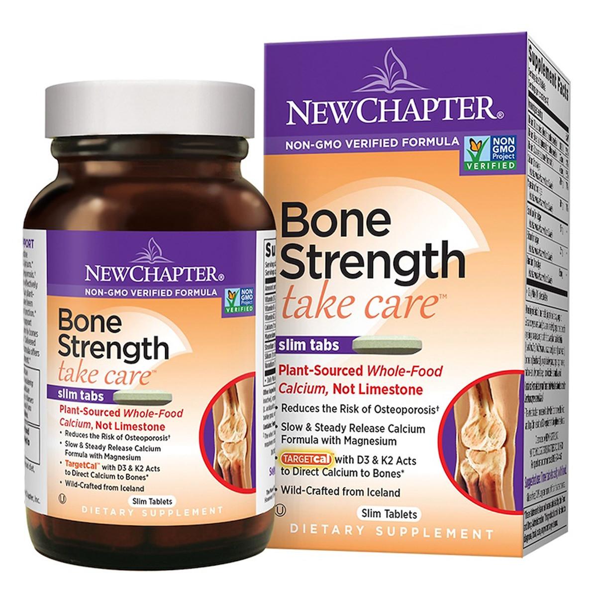 Комплекс для для укрепления костей, Bone Strength Take Care, New Chapter, 60 таблеток