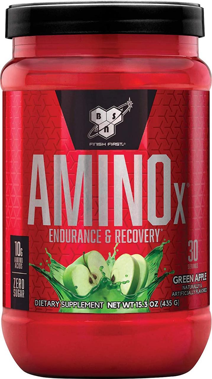 БЦАА BSN Amino BCAA (X 435 г) бсн аміно ікс х green apple